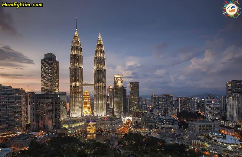 برج های دو قلو پتروناس مالزی