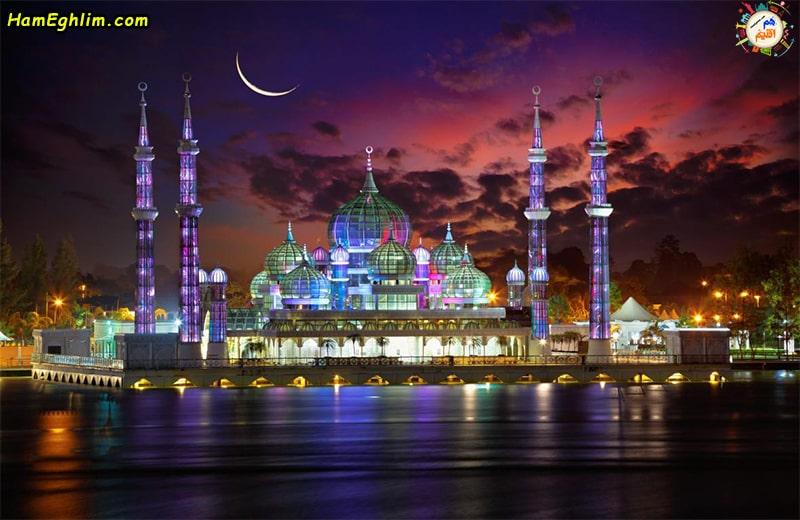 مسجد کریستالی مالزی