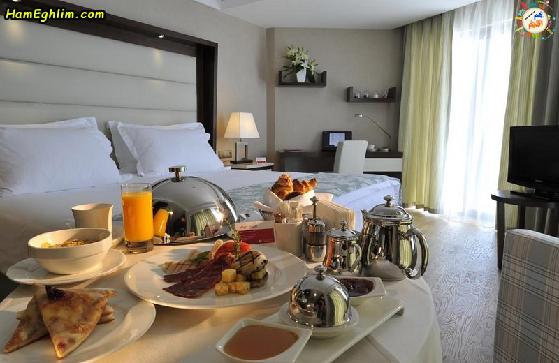 اتاق های هتل رامادا پلازا