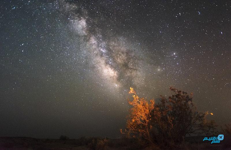 کویر مصر شب