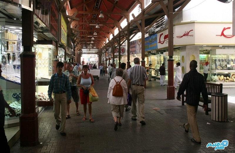 بازار طلا در دبی