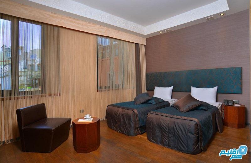 اتاق های هتل تولیپ پرا استانبول