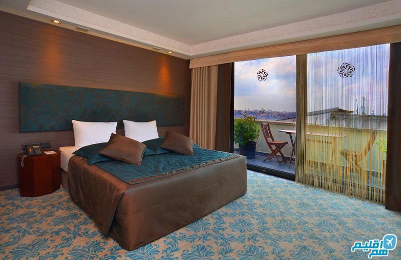 اتاق هتل تولیپ پرا استانبول