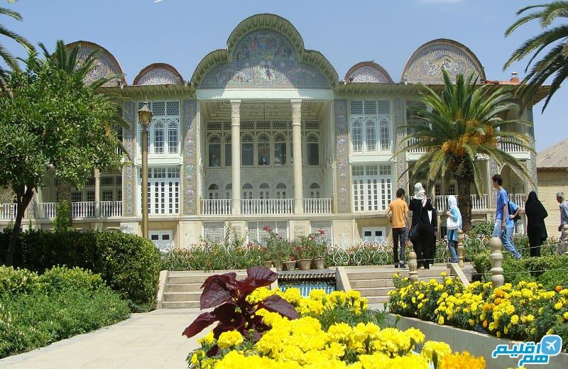 باغ ارم شیراز - هم اقلیم