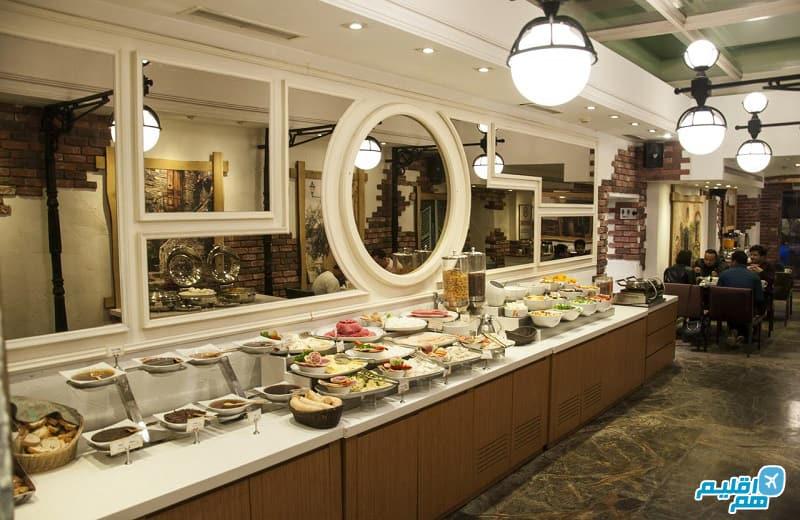 بوفه هتل تولیپ پرا استانبول