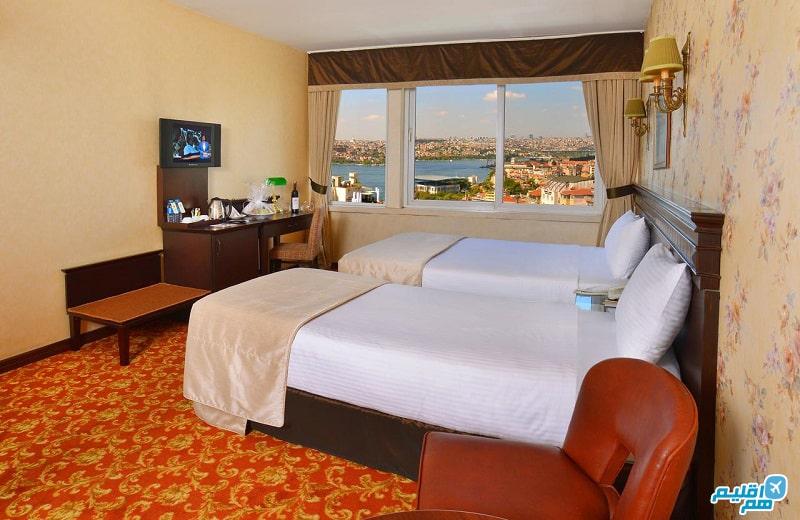 اتاق هتل پرا رز استانبول