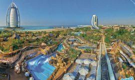 بازی های پارک آبی وایلد وادی دبی