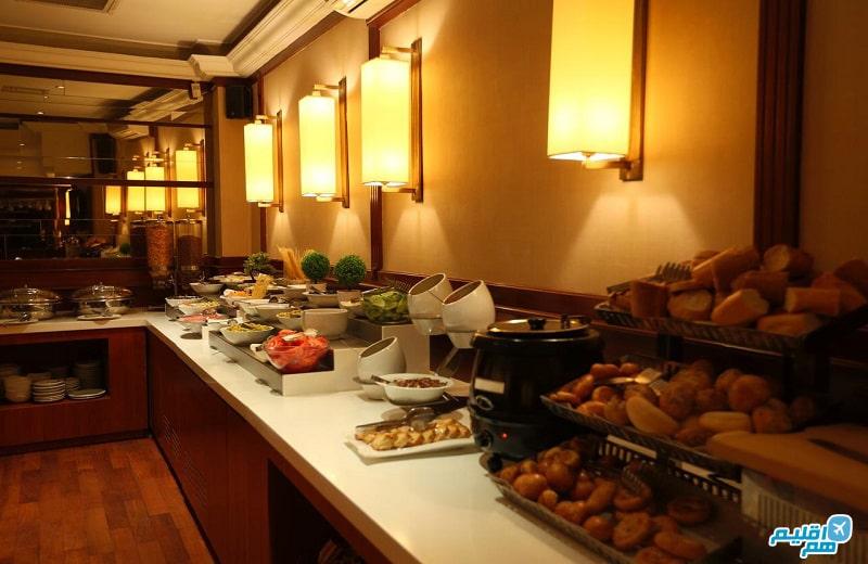 بوفه هتل پرا رز استانبول