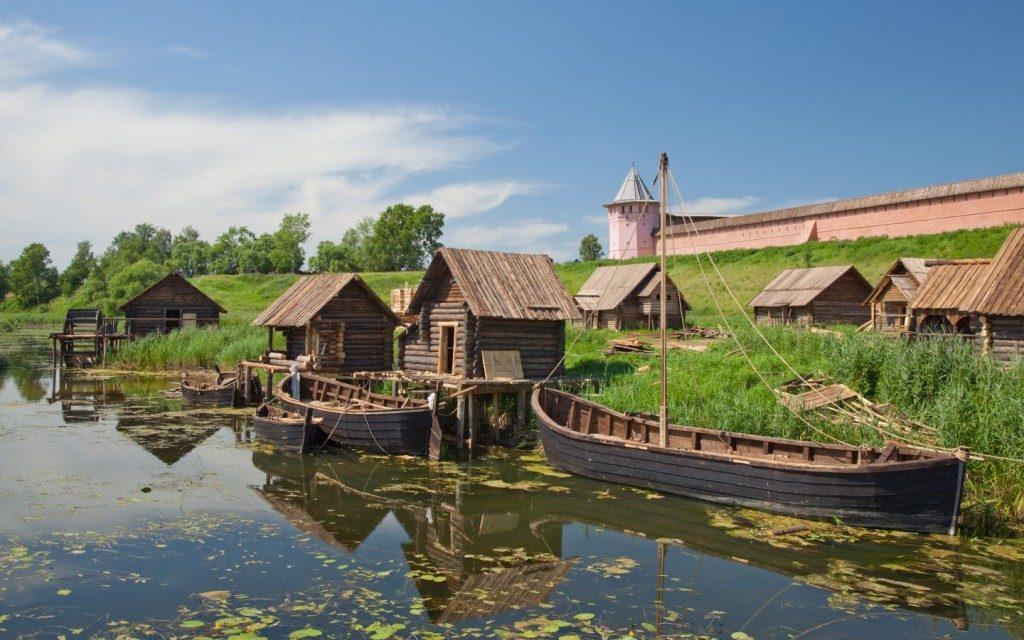 روستایی در روسیه