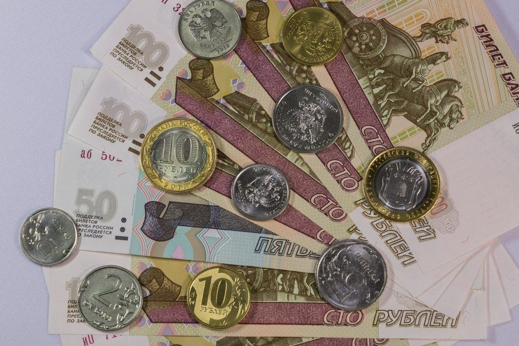 واحد پول روسیه ارز روسیه