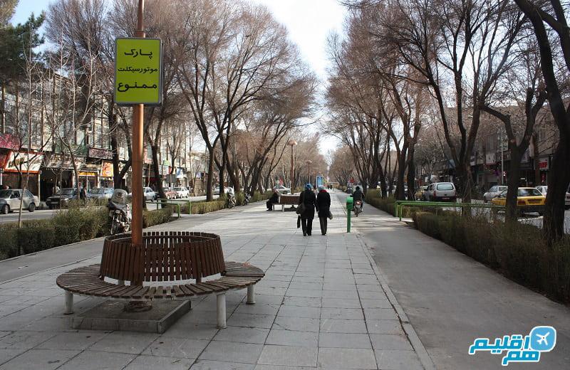 بلوار چهارباغ اصفهان