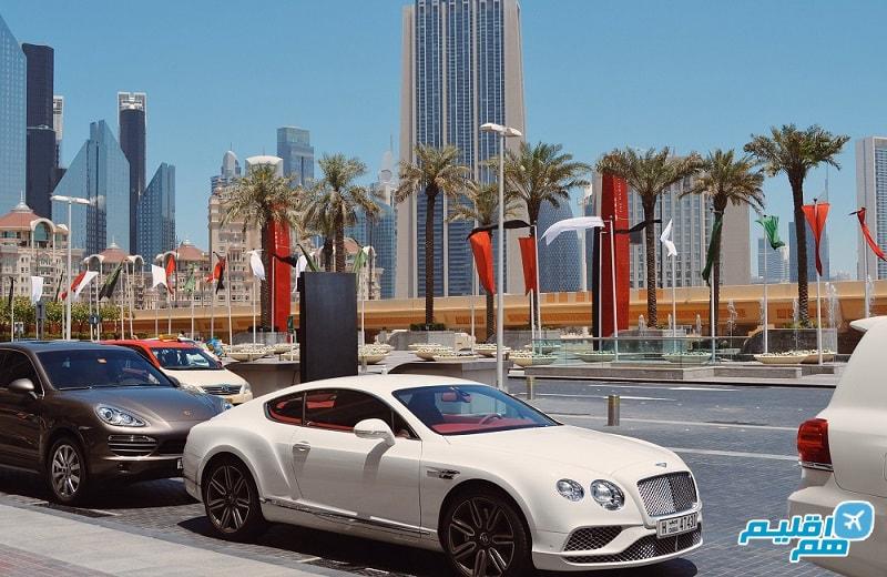 ماشین در دبی