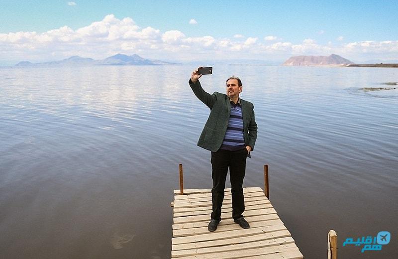 وضعیت دریاچه ارومیه