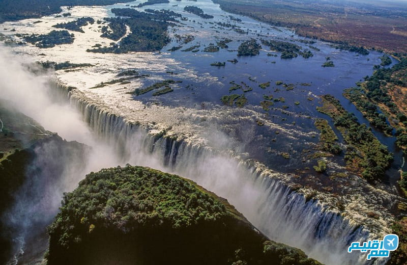 آبشار ویکتوریا آفریقا