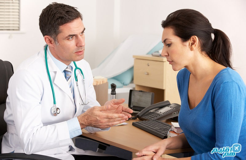 مشورت با دکتر برای سفر در دوران بارداری