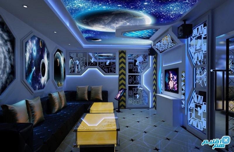 هتل در فضا