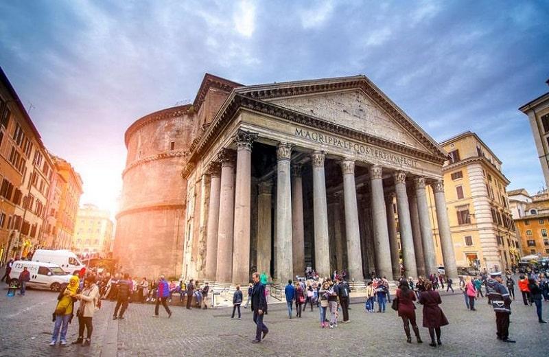 معبد پانتئون رم ایتالیا