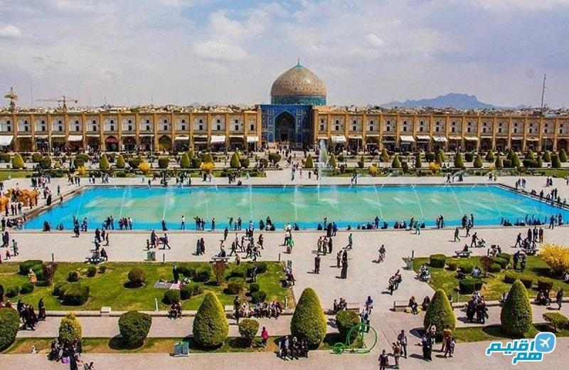 نقش جهان در شهر اصفهان