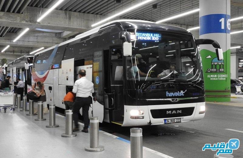 چگونه از فرودگاه جدید استانبول به مرکز شهر برویم
