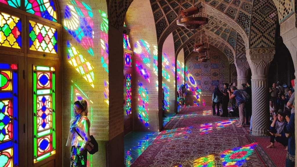 مسجد نصیر (صورتی) شیراز