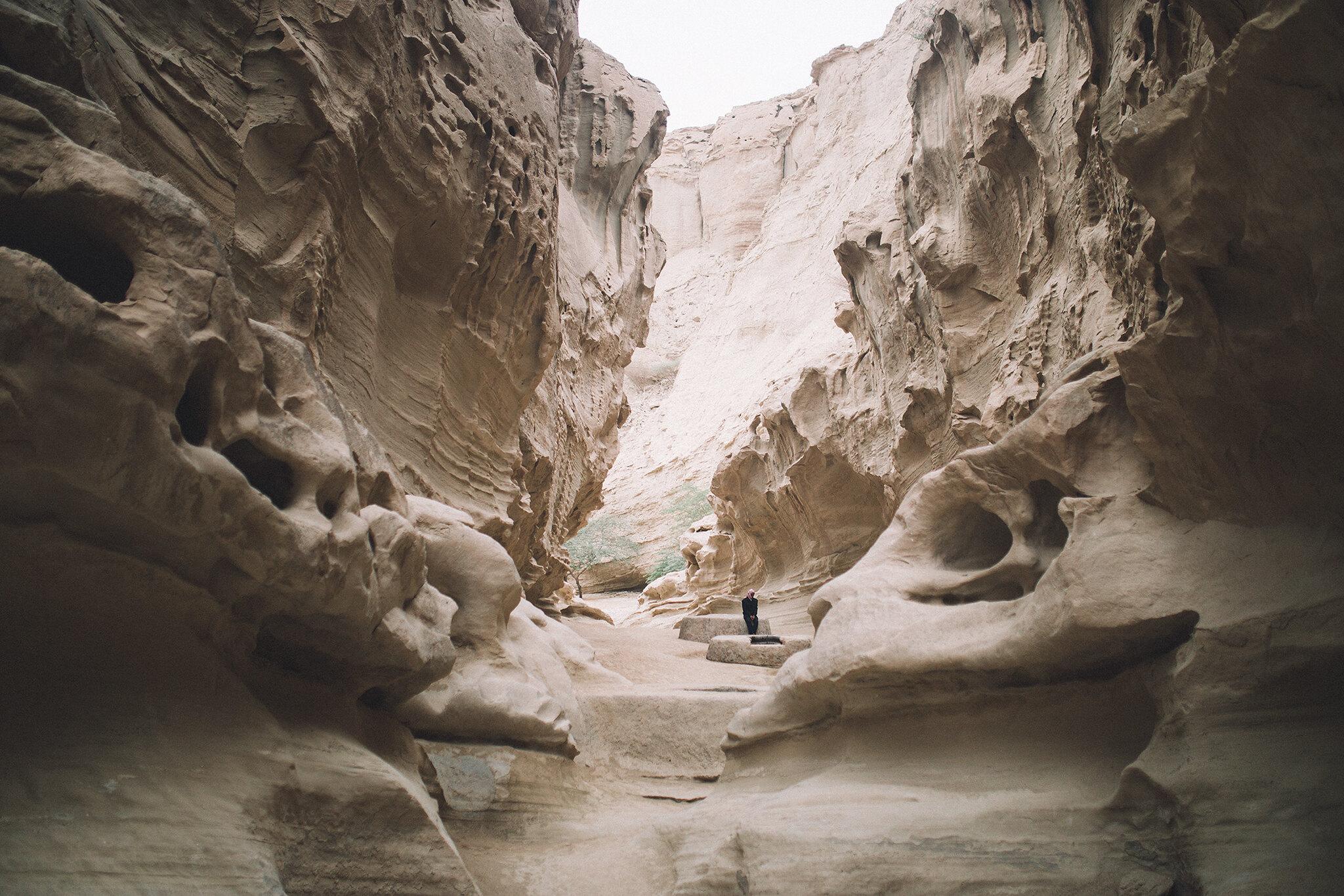 دره چاهکوه در جزیره قشم